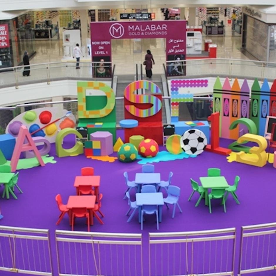 square-deira-city-centre_art-attack-set-up